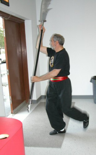 Mehran preparing